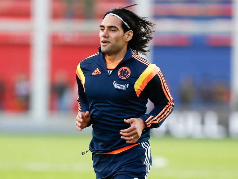 Radamel Falcao: International team-mate of Rodriguez