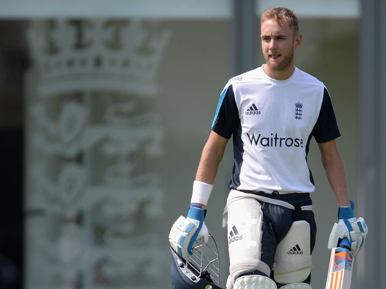 Stuart Broad: Wants to play every game but knows that will be tough