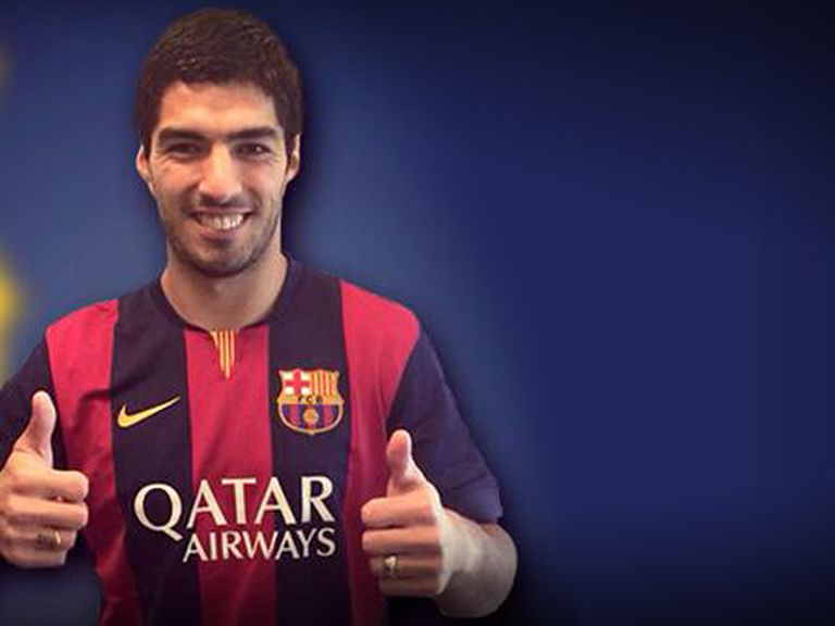 Luis Suarez: Allowed to train with his new club