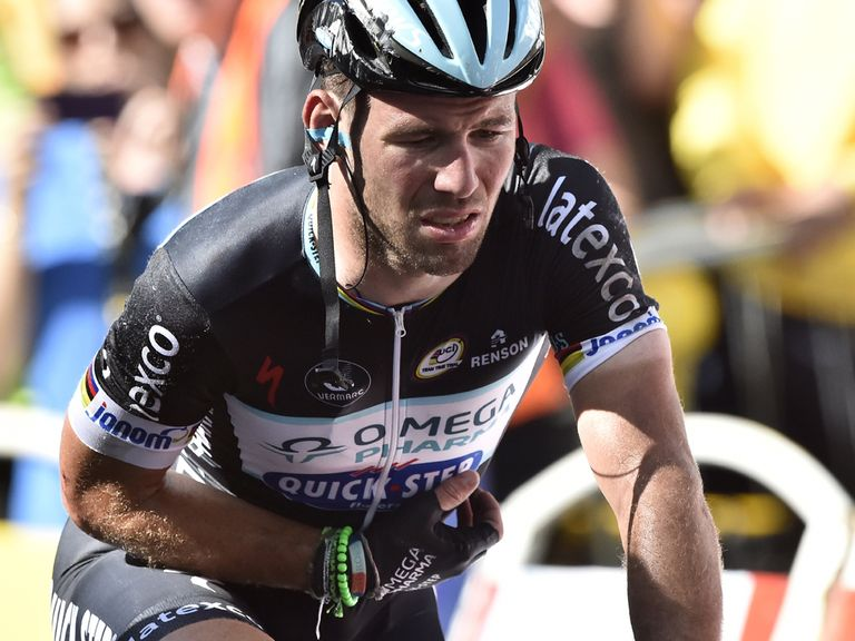Mark Cavendish: Hopes to be back in four weeks