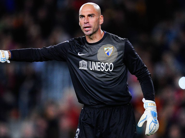 Manchester City signing Willy Caballero
