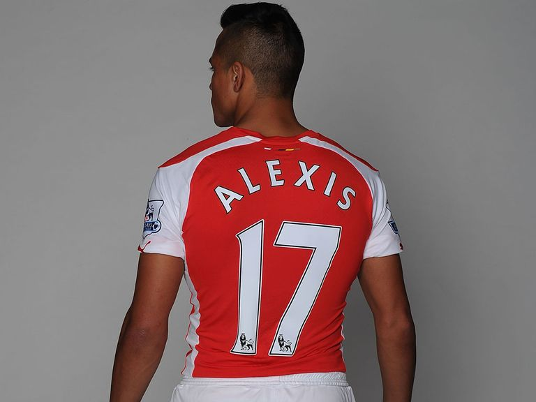 Alexis Sanchez: Joined Arsenal from Barcelona