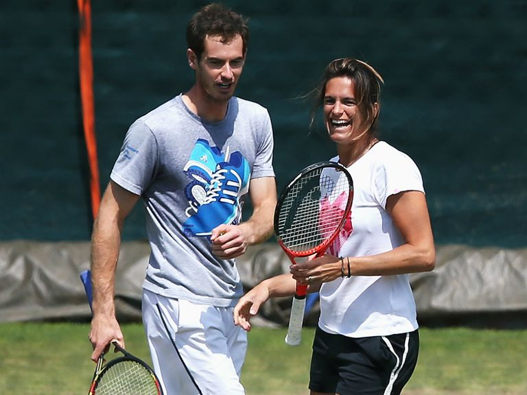Andy Murray could extend his partnership with Amelie Mauresmo