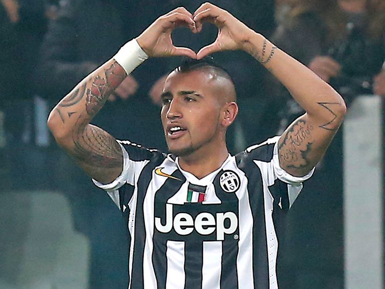 Arturo Vidal: Juventus star linked with Manchester United