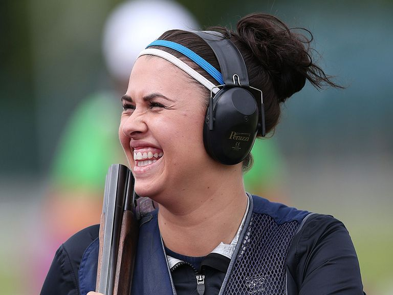 Charlotte Kerwood: Commonwealth champion in the double trap