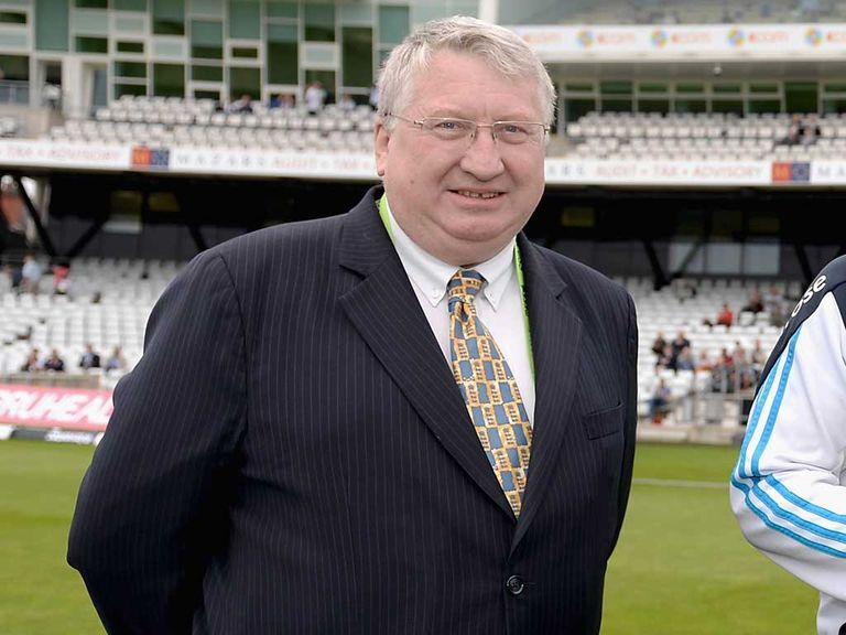 David Collier: Will retire as ECB chief executive at the end of the season