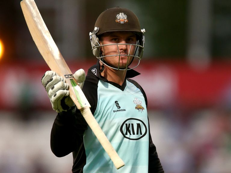 Jason Roy: Helped Surrey claim victory