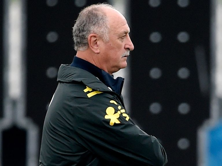 Luiz Felipe Scolari: Preparing his side to face Holland
