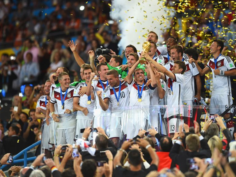 Germany: World champions. As Chris told you