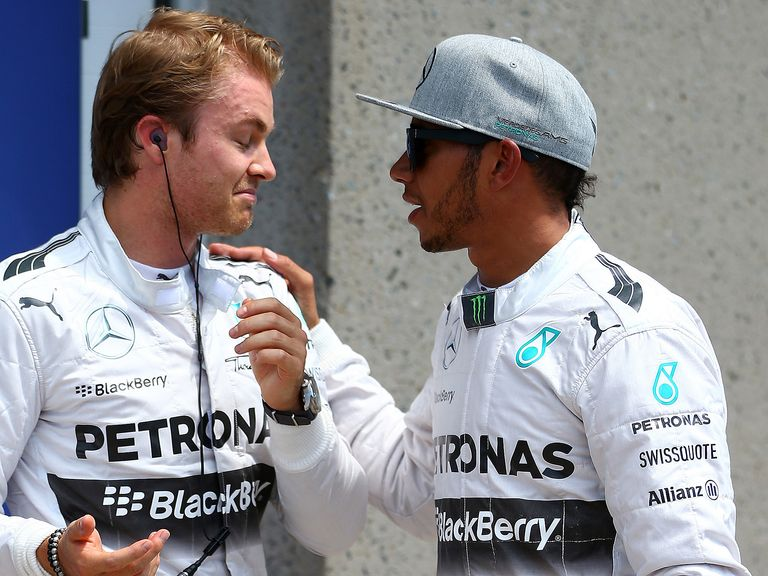 Nico Rosberg and Lewis Hamilton could be split up