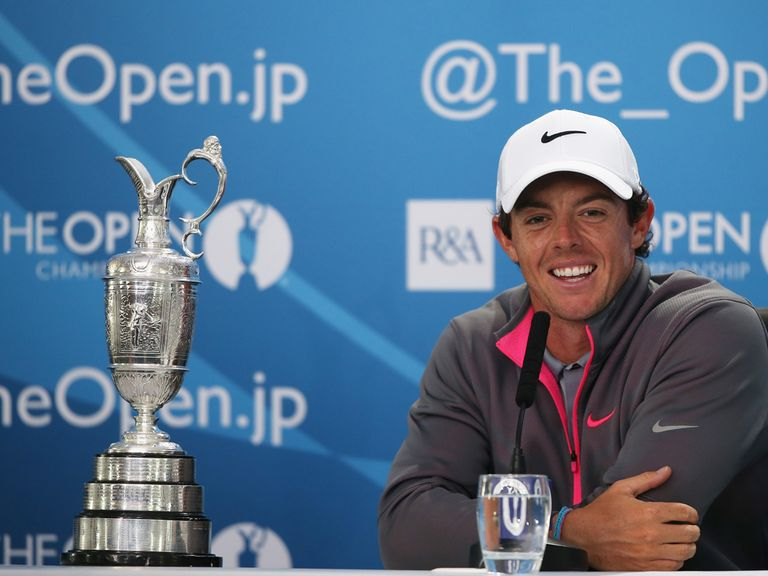 Rory McIlroy is 7/1 to win the Open again in 2015