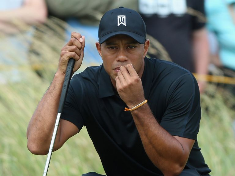 Tiger Woods: Struggling with a back injury