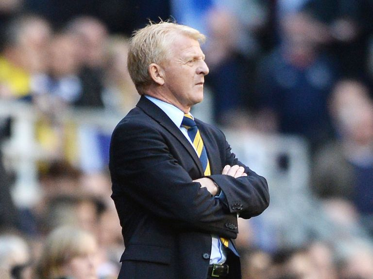 Gordon Strachan: Deligted by the attitude of McGregor