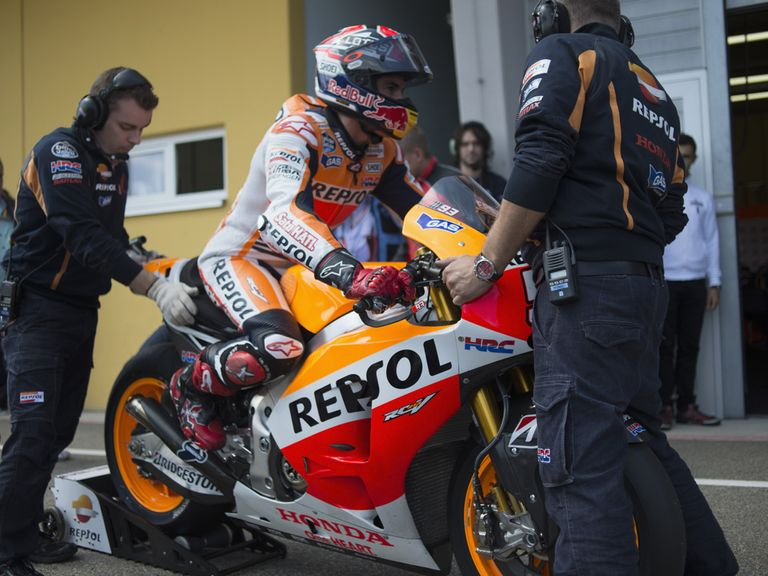 Marc Marquez: Won the Grand Prix Deutschland