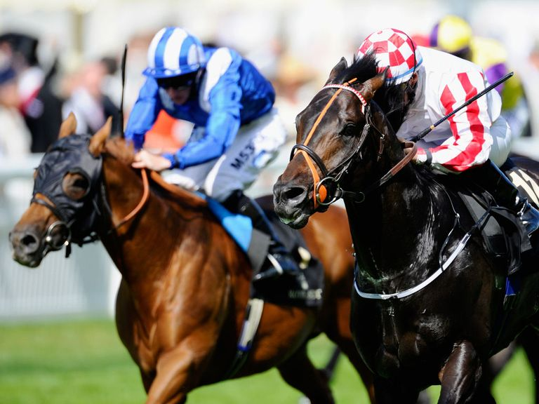 Slade Power (right): Fancied to land another top sprint prize