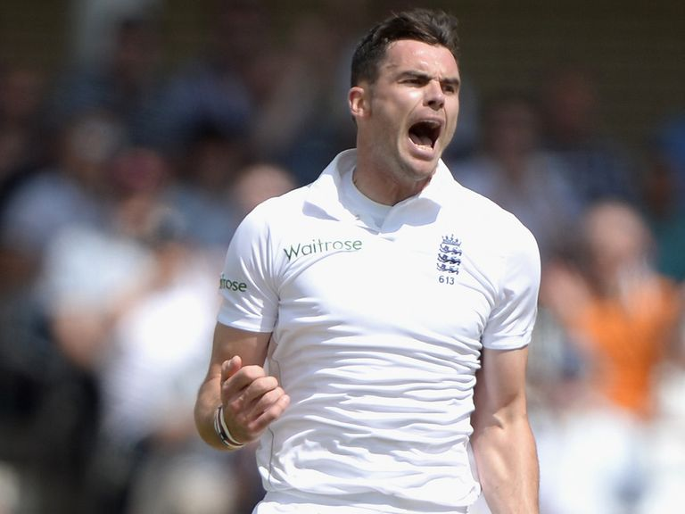 James Anderson: Urged to stay aggressive on the field