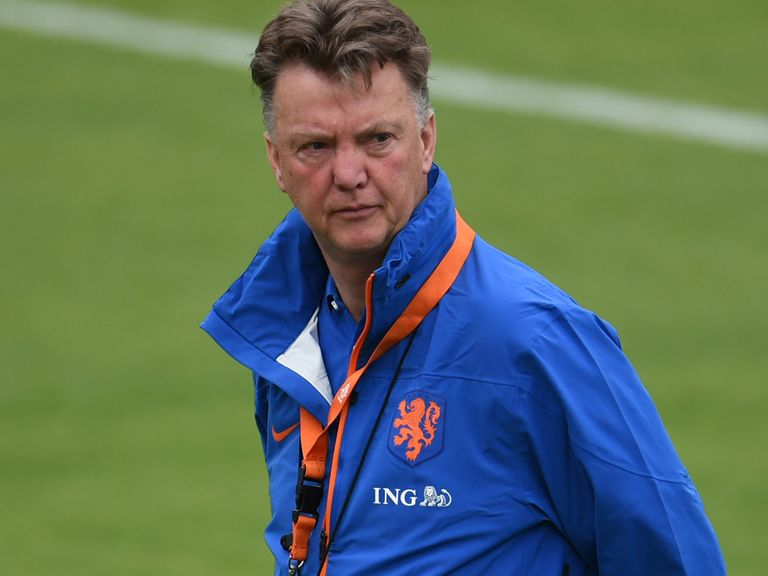 Louis van Gaal: Currently with Holland at the World Cup