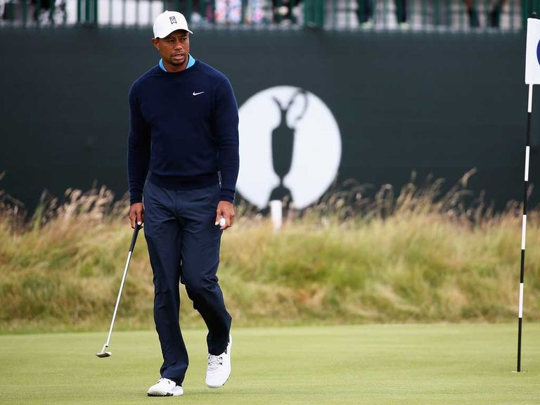 Tiger Woods: Will tee off at 0904 BST on Thursday at Hoylake