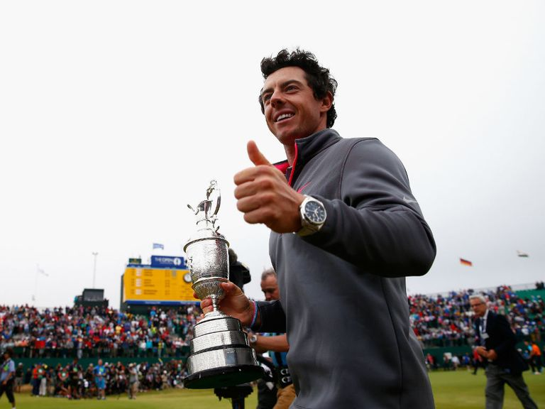 Open champion Rory McIlroy has climbed to second in the rankings