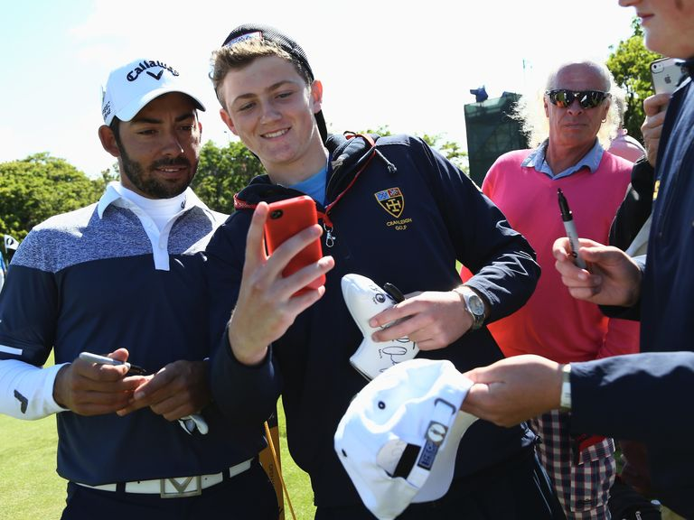 Larrazabal: Maybe best not to get too close to him, eh?