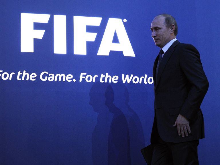 FIFA have awarded Putin's Russia the right to stage the 2018 World Cup