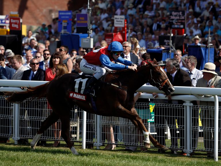 Richard Kingscote: Can cap a good week by winning at Chester on Deauville Prince
