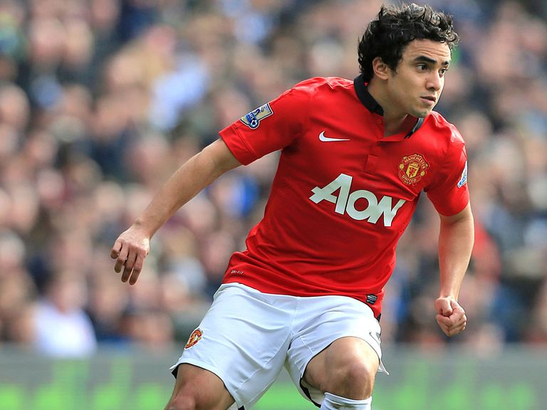 Rafael: Forced to return to Manchester by groin injury