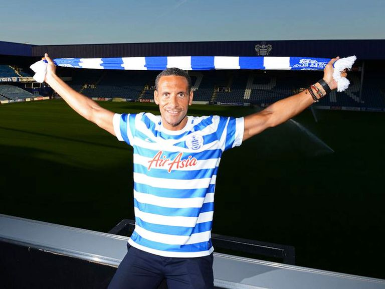Rio Ferdinand: Moved to QPR on Thursday