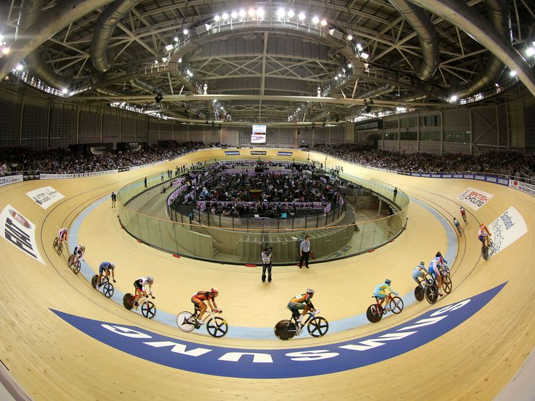 The Sir Chris Hoy Velodrome will host the cycling events