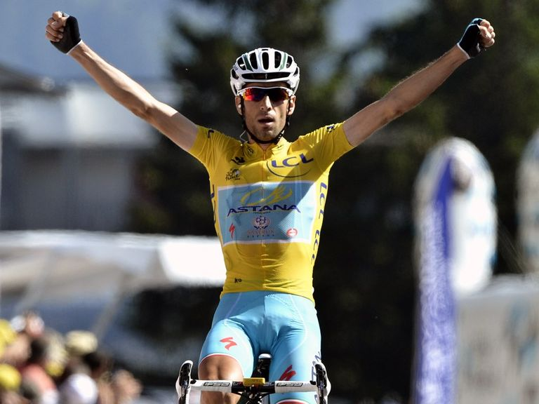 Vincenzo Nibali claimed his third stage win of this year's Tour de France