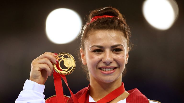 Claudia Fragapane: 16-year-old gymnast claimed four gold medals as Team England recorded a record haul in Glasgow
