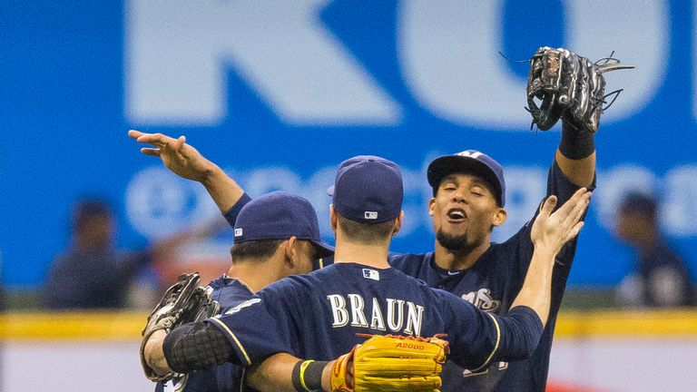 Brewers: Now have a 2 1/2 game lead at the top of the NL Central