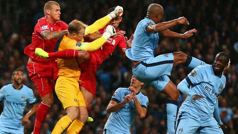 Manchester City overcame Liverpool 3-1 on Monday night