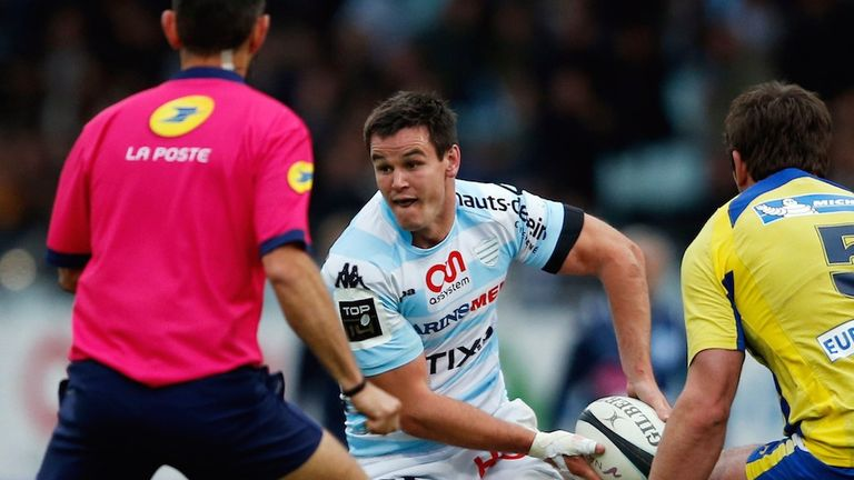 Jonny Sexton: Pondering new deal with Racing Metro