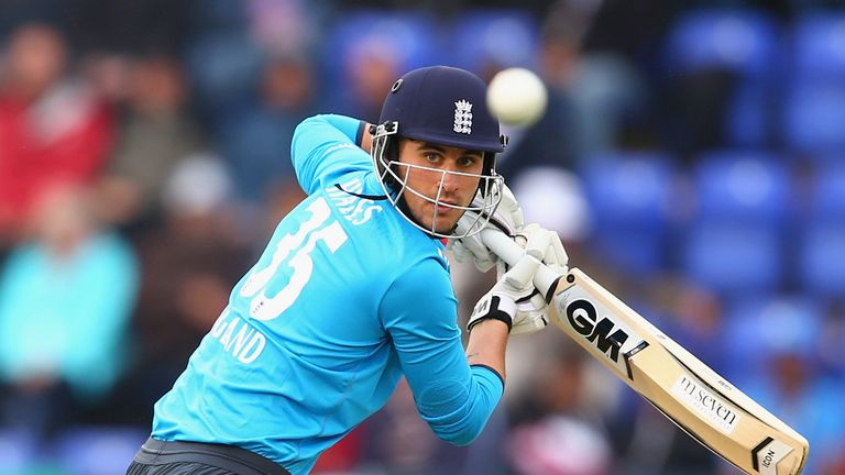 Alex Hales is averaging 76.8 for Notts in this season's Royal London One-Day Cup