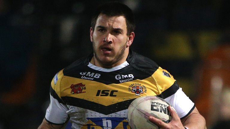 Justin Carney: Charged by RFL with dangerous throw