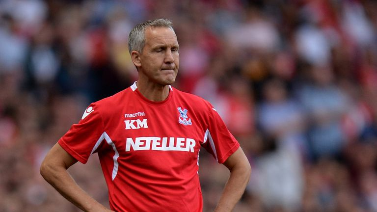 Keith Millen: Fretting about uncertainty at Selhurst Park