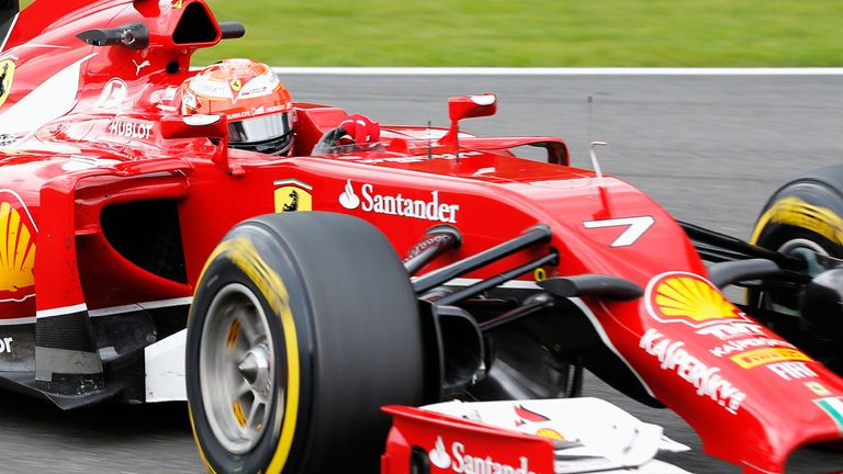 Raikkonen is only 12th in the Drivers' Championship