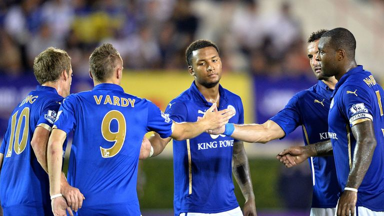 Leicester: Have won six out of their seven friendlies in pre-season