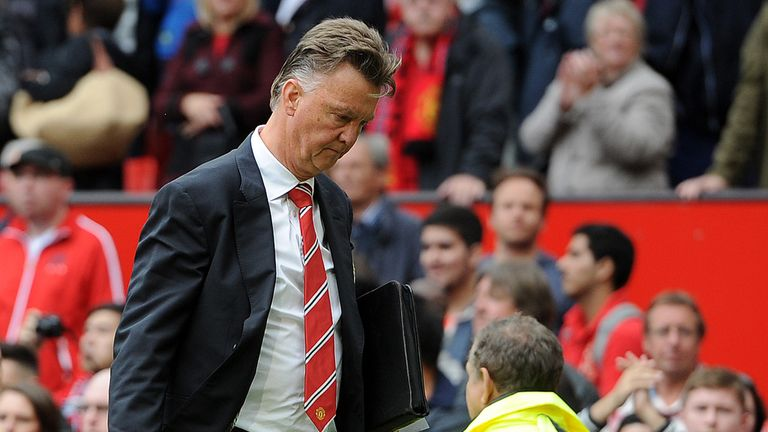 Louis van Gaal: Manchester United boss says it will be difficult to win the title