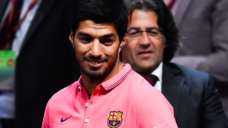 Luis Suarez: Big name summer arrival at Nou Camp
