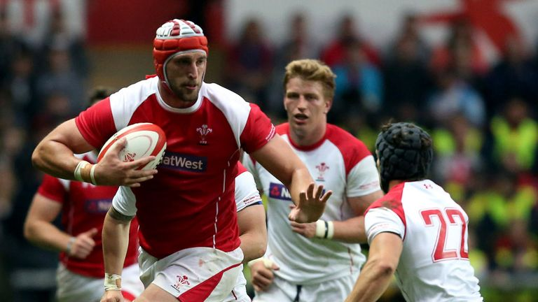 Injured: Luke Charteris