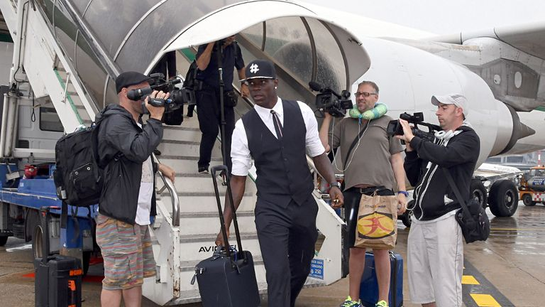 Mario Balotelli: Heading back to England