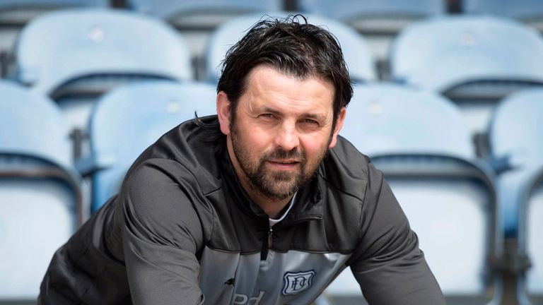 Paul Hartley: Dundee manager happy with his side's form