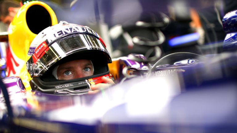 Sebastian Vettel: Engine problems on Friday