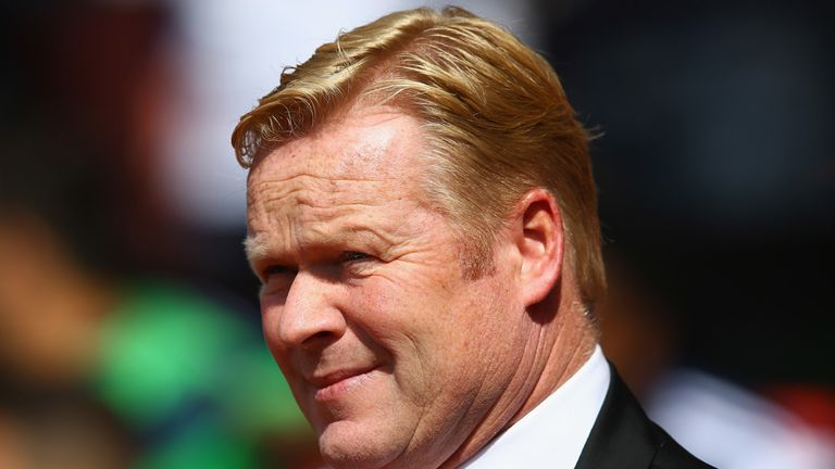 Ronald Koeman: Hoping for more from Pelle