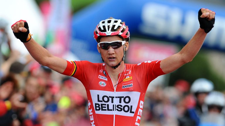 Tim Wellens: Claimed a huge victory against elite rivals at the Eneco Tour