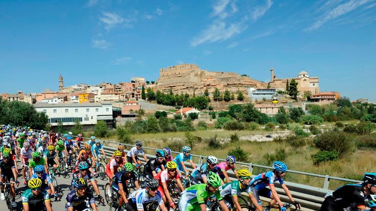 The 2014 Vuelta a Espana included eight summit finishes and three time trials