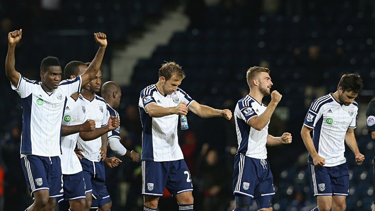 West Brom: One Premier League point thus far this season