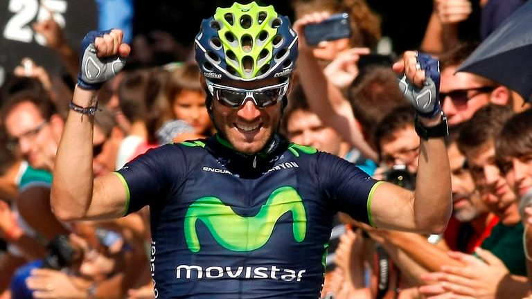 Alejandro Valverde claimed his tenth win of the season